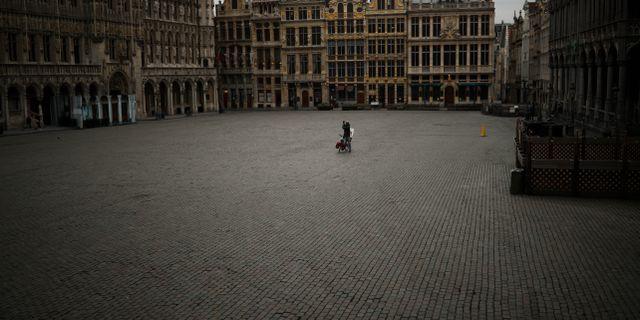 Grand Place i Bryssel. Francisco Seco / TT NYHETSBYRÅN