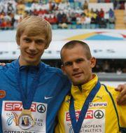 Silnov kom etta och Holm trea vid EM i Göteborg 2006. Pontus Lundahl / TT / TT NYHETSBYRÅN