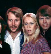 Bild på Abba från 1976.  Leif R Jansson/TT / TT NYHETSBYRÅN
