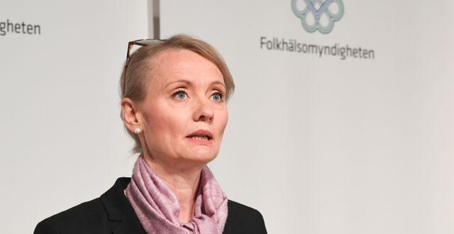 Biträdande statsepidemiolog Karin Tegmark Wisell. Fredrik Sandberg/TT / TT NYHETSBYRÅN