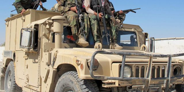 Valdsamma strider i afghanistan