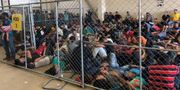 Migrantläger i McAllen, Texas, i juni - / DHS/ Office of the Inspector Gen