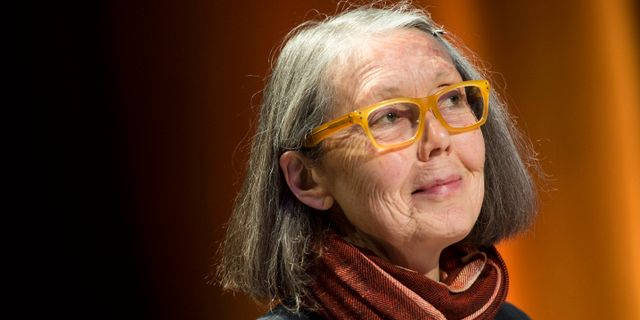 Anne Carson. Pontus Lundahl/TT / TT NYHETSBYRÅN