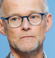 Anders Tegnell och Frode Forland. TT