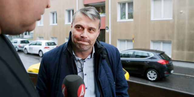 Daniel Kindberg.  Mats Andersson / TT / TT NYHETSBYRÅN