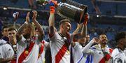 River Plate firar segern GABRIEL BOUYS / AFP