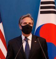 USA:s utrikesminister Antony Blinken. Lee Jin-man / TT NYHETSBYRÅN