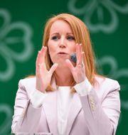 Centerpartiets partiledare Annie Lööf.  Henrik Montgomery/TT / TT NYHETSBYRÅN