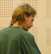 Ulf Borgström under rättegången.  Drago Prvulovic / TT NYHETSBYRÅN