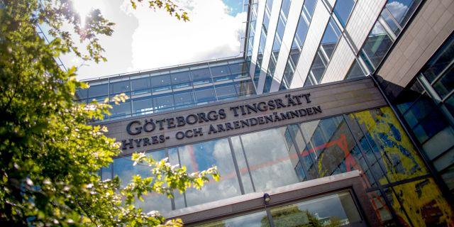 Göteborgs tingsrätt. Björn Larsson Rosvall/TT / TT NYHETSBYRÅN