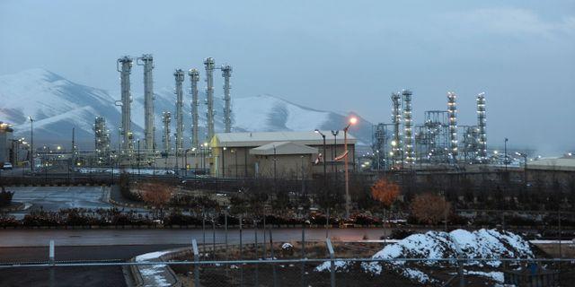 Kärnanläggning i Iran. Hamid Foroutan / TT / NTB Scanpix