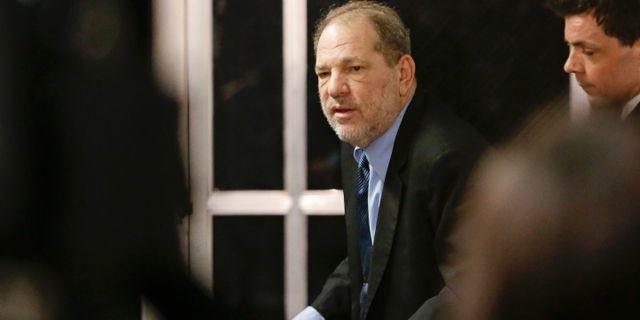 Harvey Weinstein. Frank Franklin II / TT NYHETSBYRÅN