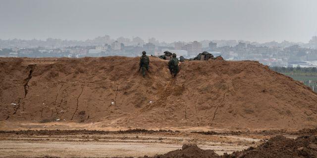 Israeliska soldater posterade i Gaza Tsafrir Abayov / TT NYHETSBYRÅN/ NTB Scanpix