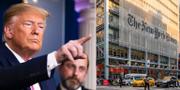 Donald Trumps / New York Times huvudkontor TT / Wikimedia