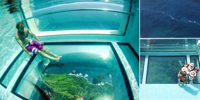 """Arkitekterna som ritade det nya hotellet The Edge på Bali tyckte inte att det räckte med """"room with a view"""". Instagram / The Edge"""