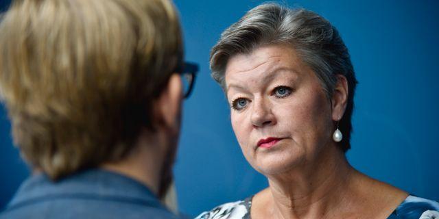 Arbetsmarknadsminister Ylva Johansson (S).  Thommy Tengborg / TT / TT NYHETSBYRÅN
