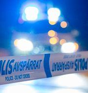 Polisavspärrning/Illustrationsbild Johan Nilsson/TT / TT NYHETSBYRÅN