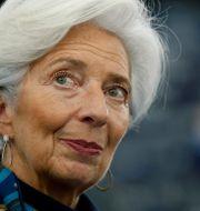Christine Lagarde.  Vincent Kessler / TT NYHETSBYRÅN