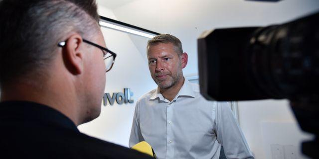Arkivbild: Peter Carlsson, vd för Northvolt.  Tove Eriksson /TT / TT NYHETSBYRÅN