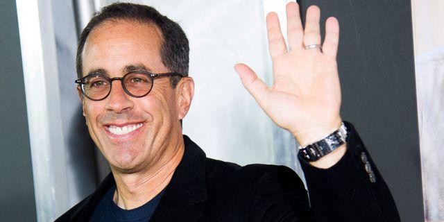 Jerry Seinfeld. Charles Sykes / TT / NTB Scanpix