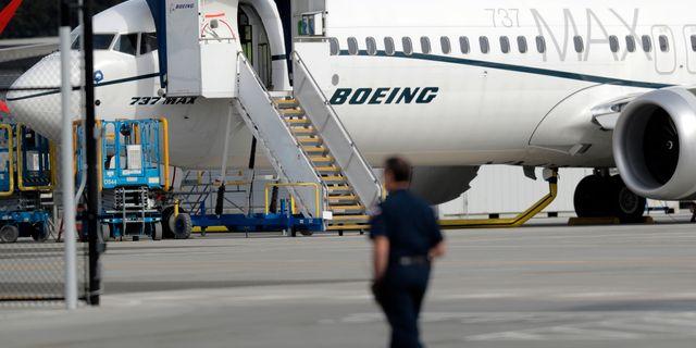 Ett Boeing  Ted S. Warren / TT NYHETSBYRÅN