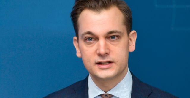 Biståndsminister Per Olsson Fridh. Anders Wiklund/TT / TT NYHETSBYRÅN