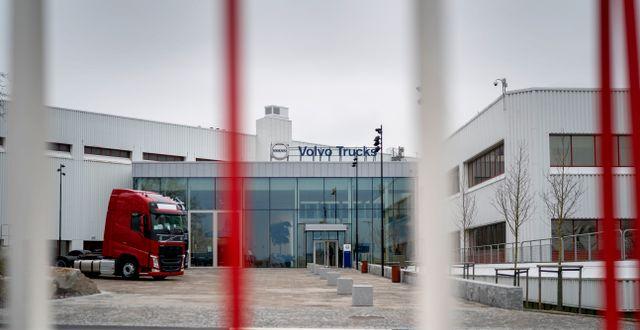 Illustrationsbild: Volvo lastvagnar stänger fabriken i Tuve. Björn Larsson Rosvall/TT / TT NYHETSBYRÅN