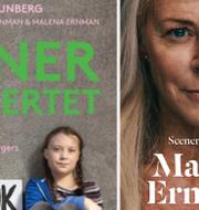 """Det danska respektive det svenska omslaget till boken """"Scener ur hjärtat"""". Politiken förlag/Polaris förlag."""