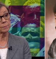 Annika Söder/Dawit Isaak. SVT/TT