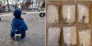 Narkotika hittades vid två förskolor  TT
