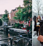 Amsterdam har infört Europas högsta turistskatt. Liam Gant/Tembela Bohle