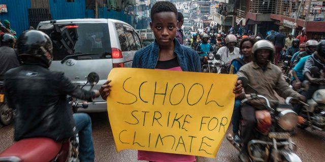 Leah Namugerwa i Kampala SUMY SADURNI / AFP
