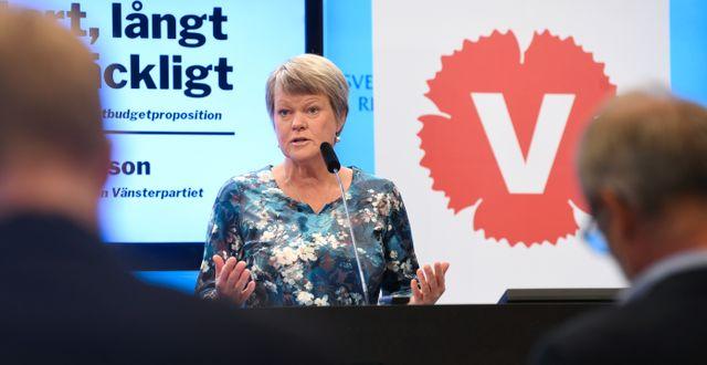 Ulla Andersson.  Fredrik Sandberg/TT / TT NYHETSBYRÅN