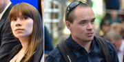 Annika Hirvonen Falk (MP) och Kent Ekeroth (SD) TT