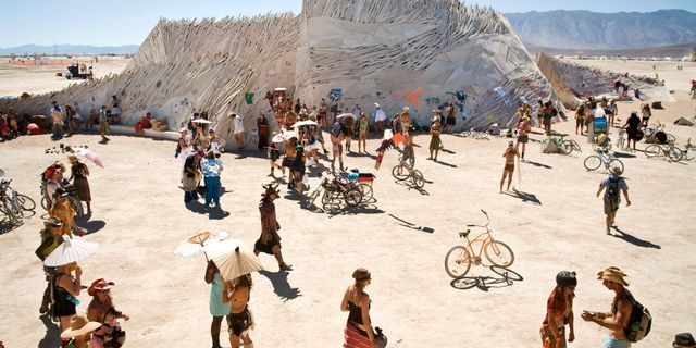 Burning Man, 2010. Vince Alonzo / The Reno Gazette-Journal