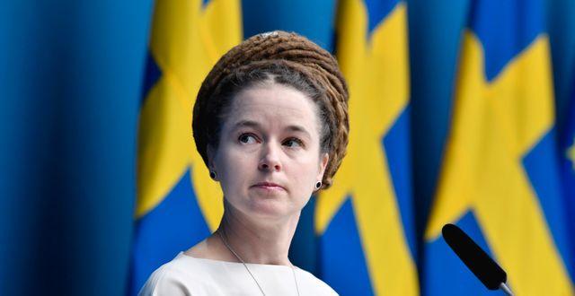 Amanda Lind Jessica Gow/TT / TT NYHETSBYRÅN