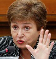 Arkivbild: IMF-chefen Kristalina Georgieva.  Remo Casilli / TT NYHETSBYRÅN