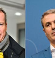 Anders Ygeman och Ibrahim Baylan, Socialdemokraterna. TT