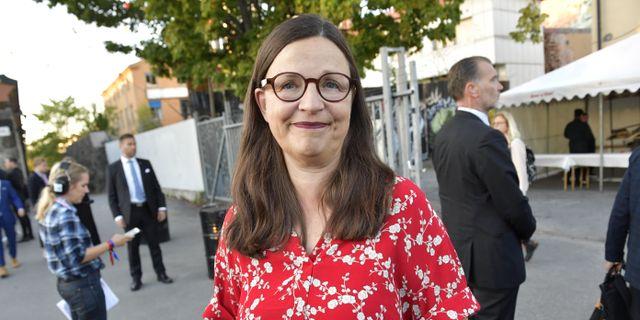 Utbildningsminister Anna Ekström (S)  Jonas Ekströmer/TT / TT NYHETSBYRÅN
