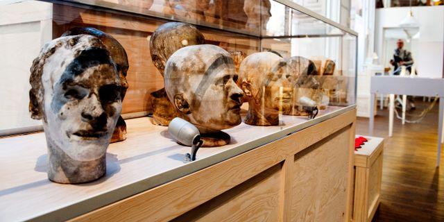 """Utställningen """"(O)mänskligt"""" gjordes 2008. JOHAN ENGMAN / TT / TT NYHETSBYRÅN"""