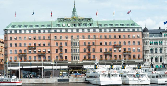 Grand Hotel i Stockholm. Jonas Ekströmer / TT / TT NYHETSBYRÅN