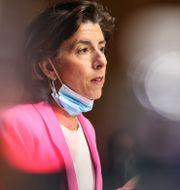 Handelsminister Gina Raimondo.  Oliver Contreras / TT NYHETSBYRÅN