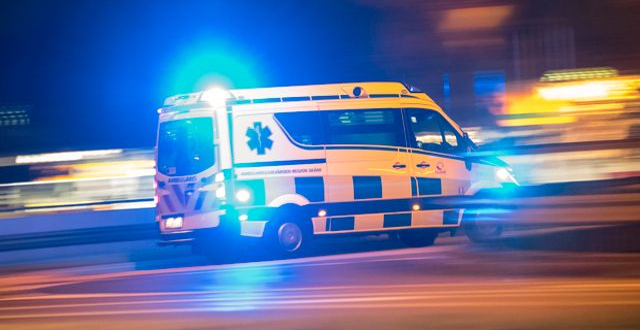 Ambulans. Johan Nilsson/TT / TT NYHETSBYRÅN