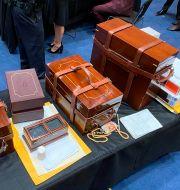Väskor med röstsedlar.  Jeff Merkley / TT NYHETSBYRÅN