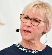 Margot Wallström (S).  Vilhelm Stokstad/TT / TT NYHETSBYRÅN