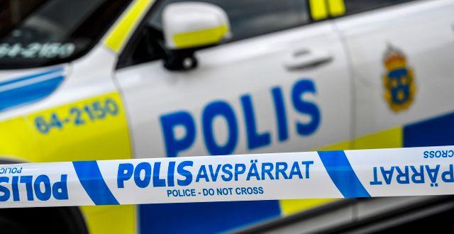 Polis. Illustrationsbild.  Johan Nilsson/TT / TT NYHETSBYRÅN