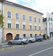 Det gula huset i Braunau. Kerstin Joensson / TT NYHETSBYRÅN
