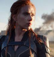 """Scarlett Johansson i """"Black Widow"""". TT NYHETSBYRÅN"""