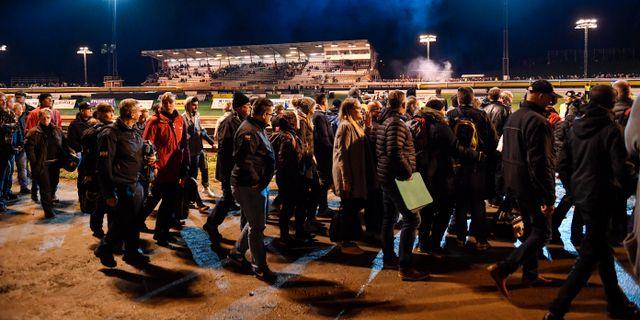 Fler gripna pa svenska arenor trots mindre publik