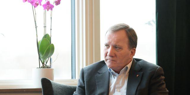 Stefan Löfven. Janerik Henriksson/TT / TT NYHETSBYRÅN